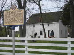 frying pan farm park's spring meeting house becomes state, national landmark